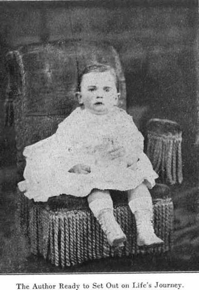 Portrait of Jennie June as a baby