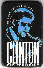 Clinton Button
