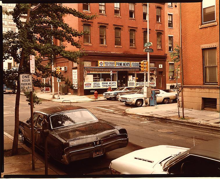 Spruce Street and 20th Street