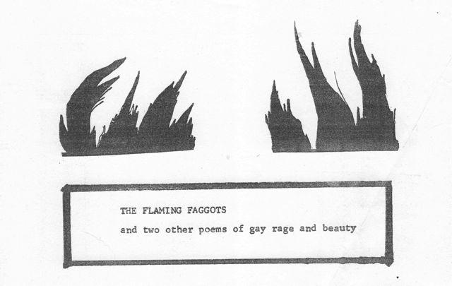 Flaming Faggots