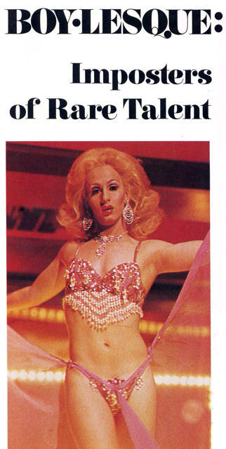 Boylesque: Imposters of Rare Talent