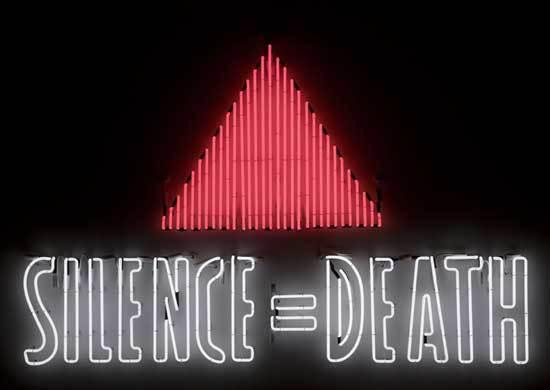 Silence = Death Neon