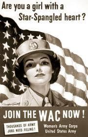 WAC recruitment poster