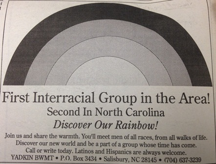 Interracial Group Ad