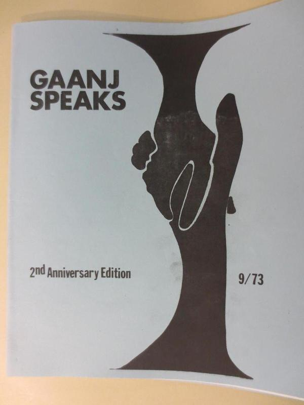 GAANJ Speaks cover
