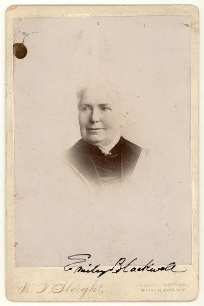 Dr. Emily Blackwell circa 1880