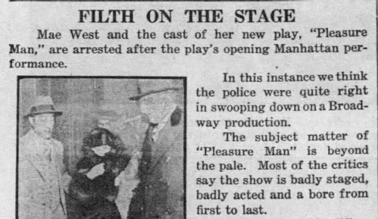"1928-10-03 ""Filth,"" Daily News, Oct 3 1928, p. 23.jpeg"