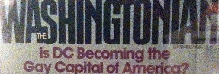 Washintonian Headline