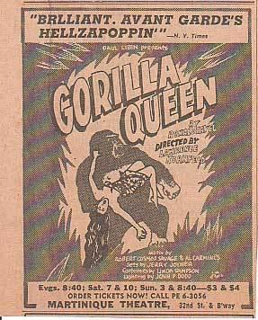 NYT Gorilla Queen Ad