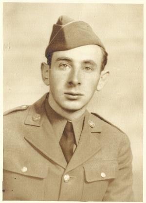 Allen Bernstein, Soldier, U.S. Army, c. 1940's