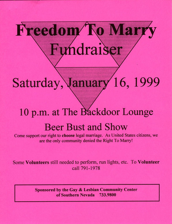 Freedom to Marry Fundraiser