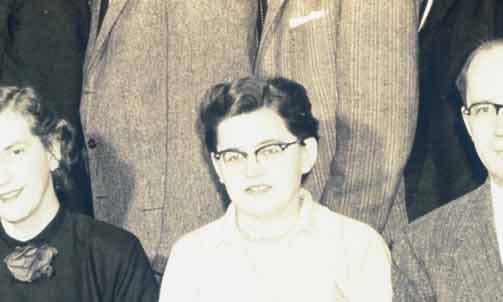 Marge McDonald, 1957