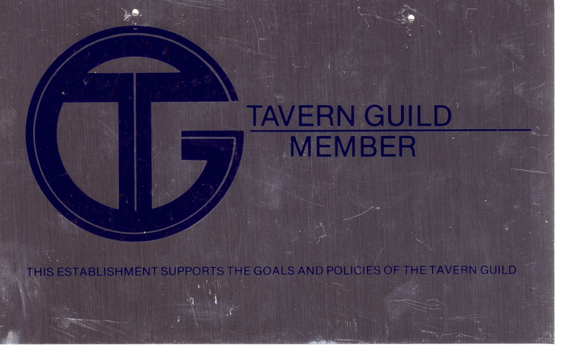 Tavern Guild sign