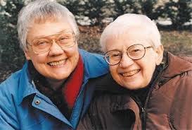 Barbara Gittings and Kay Lahusen
