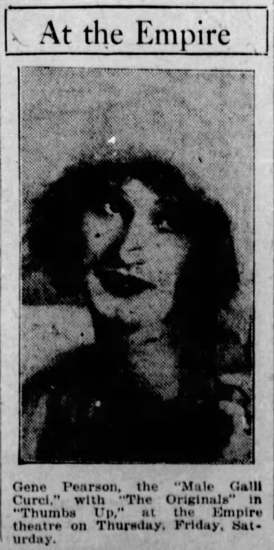 1925-09-06 Gene Pearson, Thumbs Up, Saskatoon Star-Phoenix, Oct 6, 1925, 9