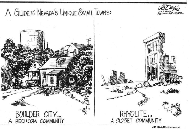 Stonewall Park Rhyolite Editorial Cartoon