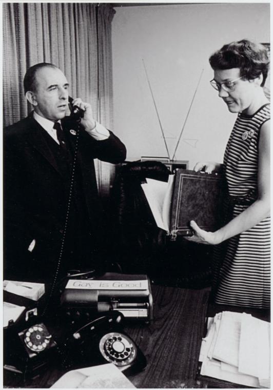 Frank Kameny and Barbara Gittings