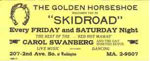 Golden Horseshoe Ad