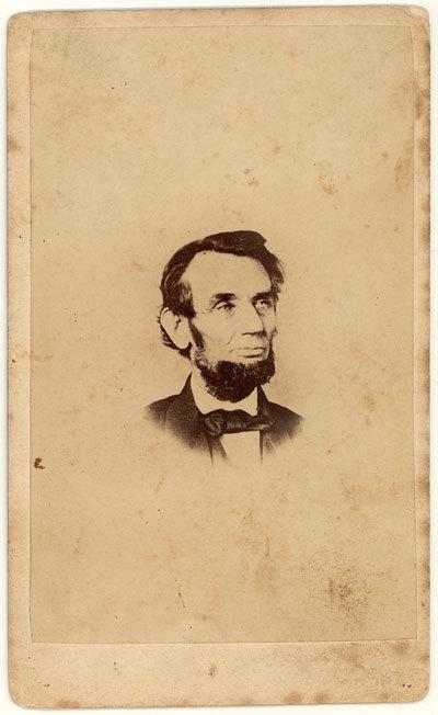 Abraham Lincoln circa 1864
