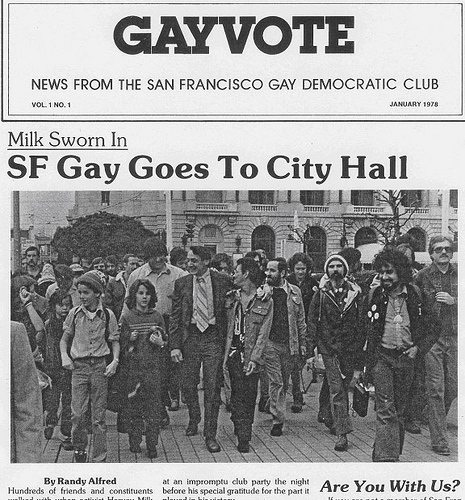 Milk in Gay Vote