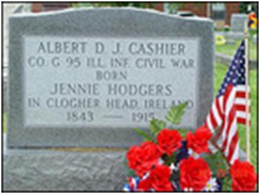 Cashier's Headstone
