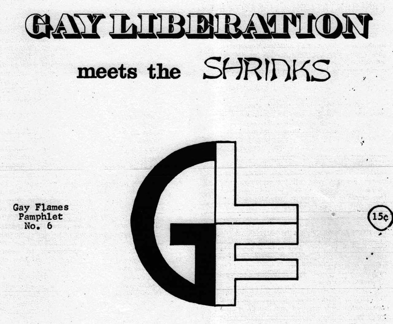 Gay Liberation Meets the Shrinks