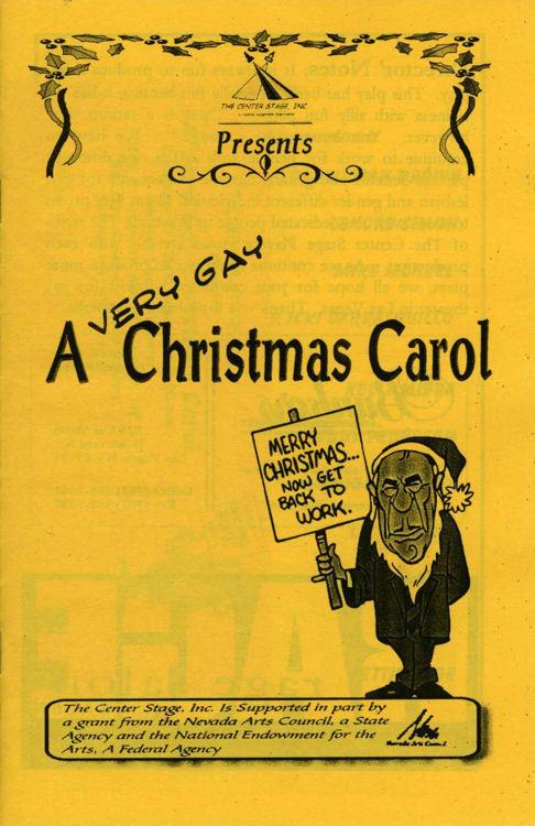 A Very Gay Christmas Carol
