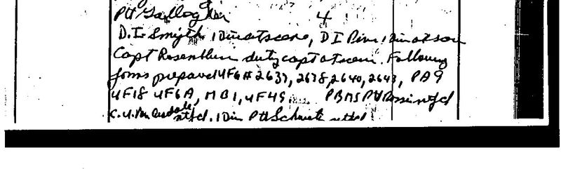 """Saturday, June 28, 1969 [time unclear] am, Unusual Occ[urrence] (cont), [page number] 175"""