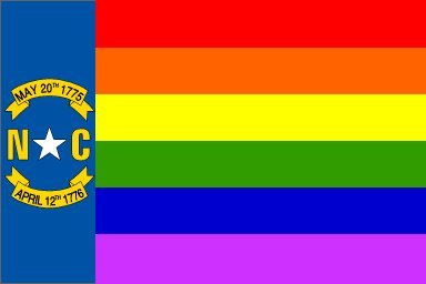 NC Gay Flag