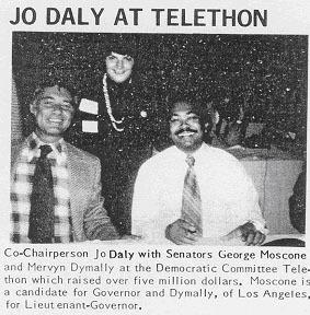 Daly, Moscone, Dymally