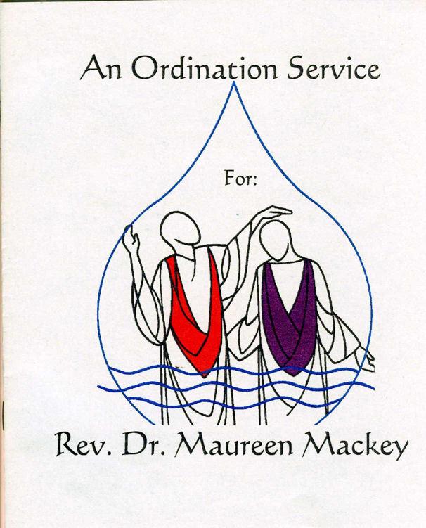 Maureen Mackey Ordination