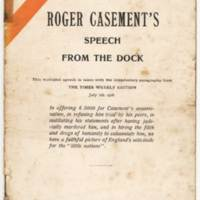 RVPM Casement RC's Speech