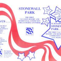 Stonewall Park Brochure, 1985/6