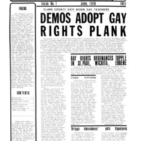 Vegas Gay Times, First Issue
