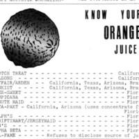 Florida Orange Juice Boycott