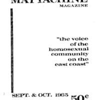 Mattachine Kameny 9.65