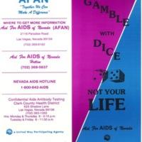 AFAN Brochure, 1989