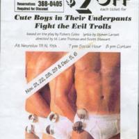 1997 Boise Play Flyer