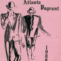 Miss Gay Atlanta Pageant program 1989