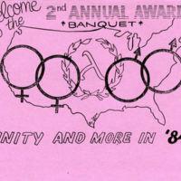 Gay Pride Banquet, 1984