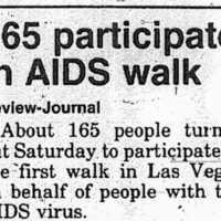 AIDS Walk 1991