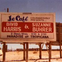 Le Cafe Billboard, 1970s