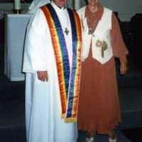 Maureen Mackey and Mary Ellen Racel