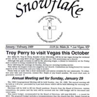 MCC Newsletter, 1989