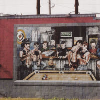 Mary's Lounge Mural