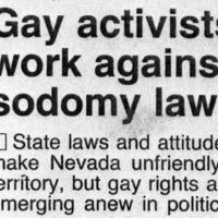 Gay Activists Work
