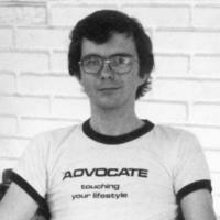 ThomasKraemerWearingAdvocateTshirtSloganTouchingYourLifestyle1976.jpg