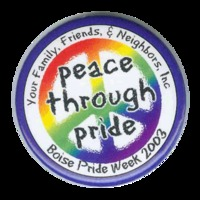 2003 Boise Pride Button