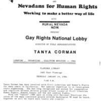Tanya Corman Lecture