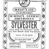 Sylvester at Shelly's Leg